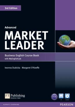 MARKET LEADER ADVANCED SB WITH DVD - ROM INC. CLASS AUDIO & MYLAB - 3RD ED - 1447922255