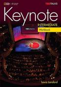 KEYNOTE INTERMEDIATE WB WITH AUDIO CD - BRITISH