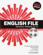 ENGLISH FILE ELEMENTARY WB WITH KEY AND ICHECKER - 3RD ED